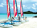 Antigua. One beach for