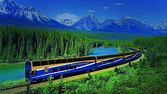 Frank Barrett boards the Rocky Mountaineer for an epic journey